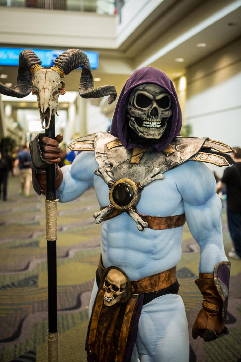 Skeletor MegaCon 2015 Cosplay